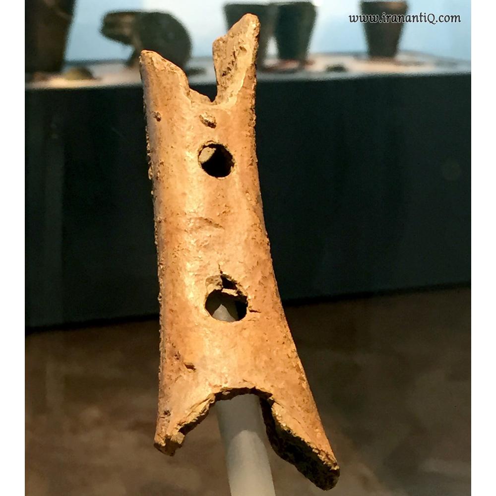 فلوتی که از زمان نئاندرتال ها به جای مانده ، مربوط به پنجاه تا شصت هزار سال  پیش ، محل نگهداری : موزه ملی اسلونی