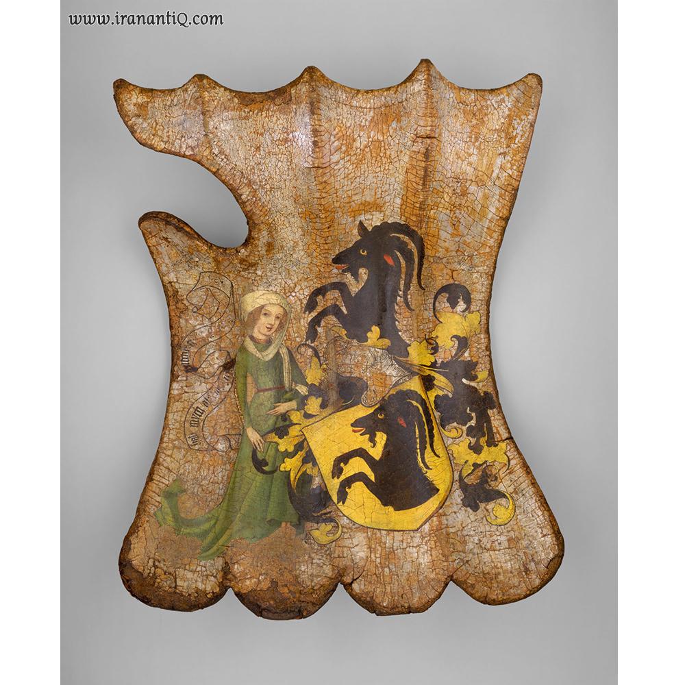 سپر Targe ، آلمان ، 1450 میلادی ، محل نگهداری : موزه متروپولیتن