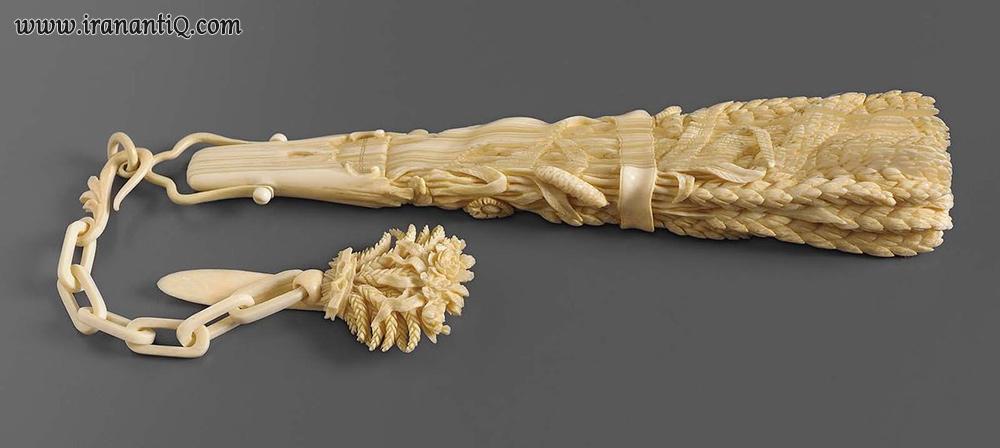بادبزن ساخته شده از عاج