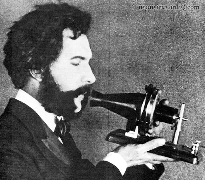 تلفنی که « بل » اختراع کرد