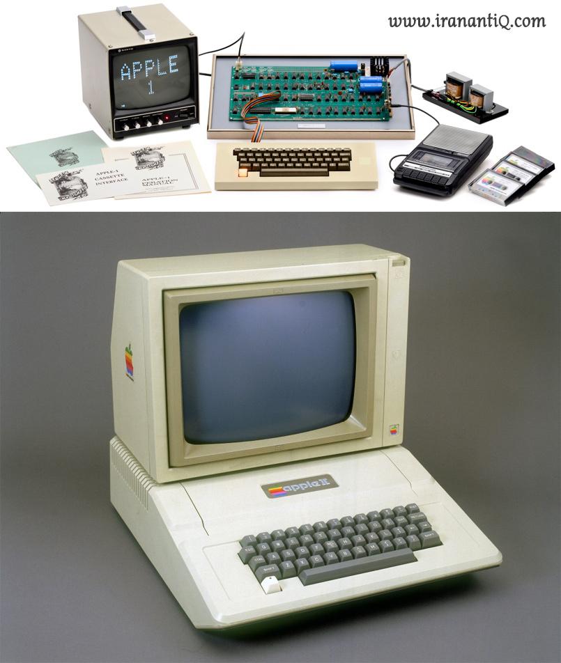 کامپیوتر های Apple one و Apple two