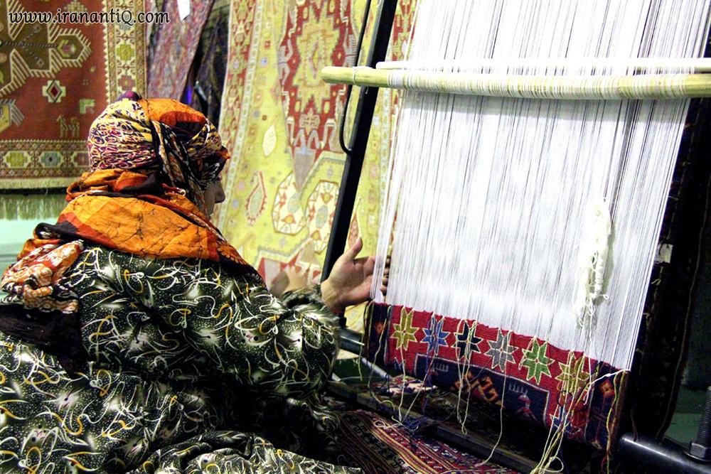 ورنی بافی Lac Weaving