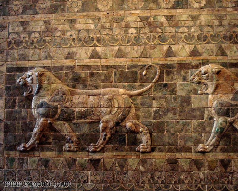 Achaemenid Tiles In Iran