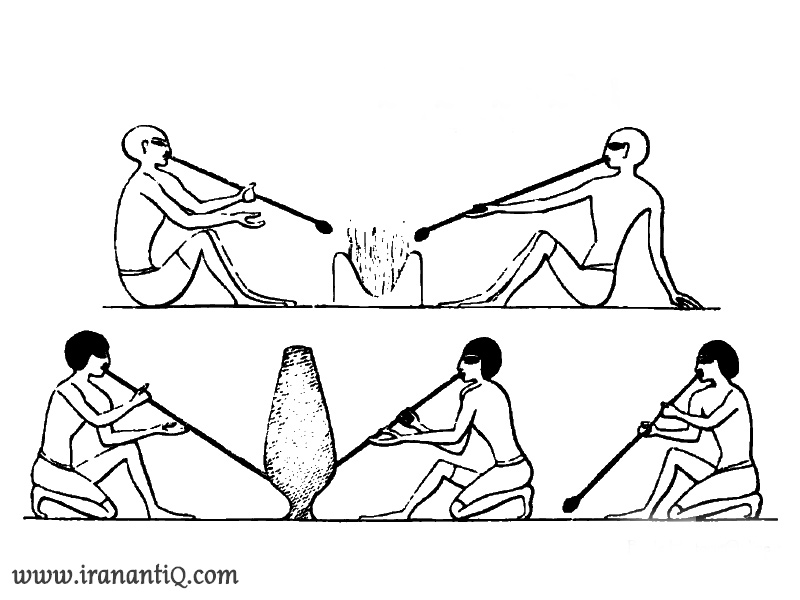 Glass bowling in Egyptian Empire 3000 BC