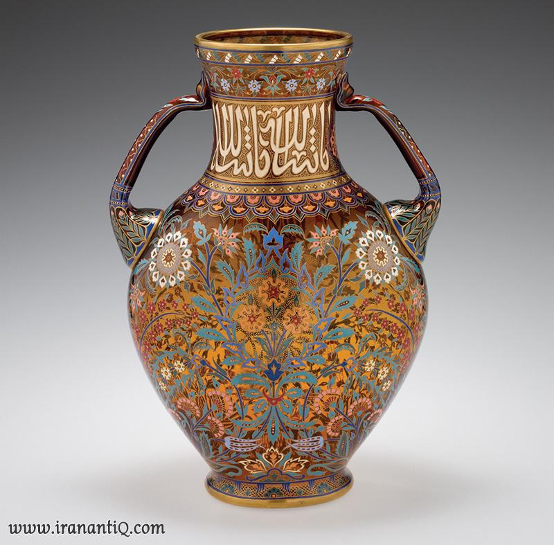 persian vase enamel in austria