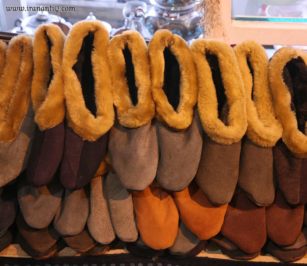 کفش هایی از جنس پوست