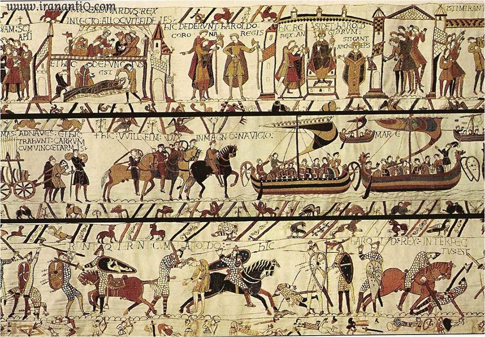 پرده منقوش بایو ، 1066-1077 میلادی