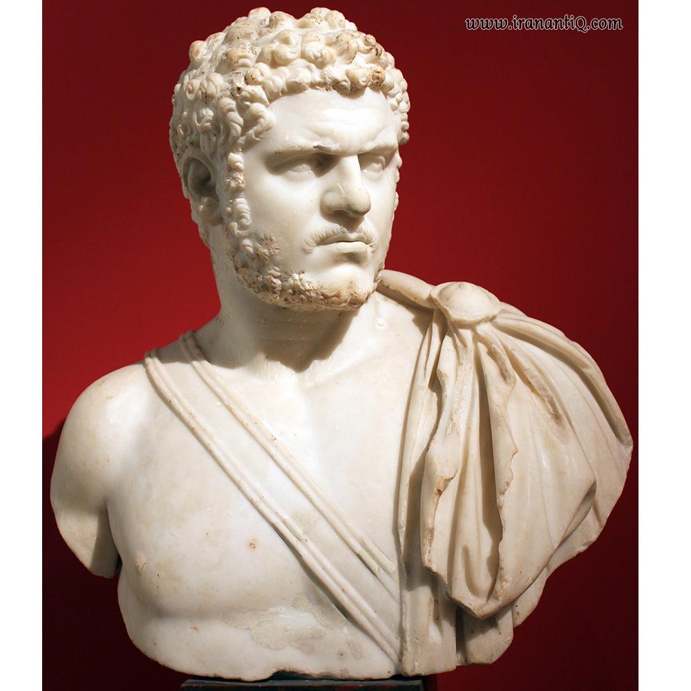 کاراکالا - مرمر - به اندازه طبیعی - موزه واتیکان ، روم