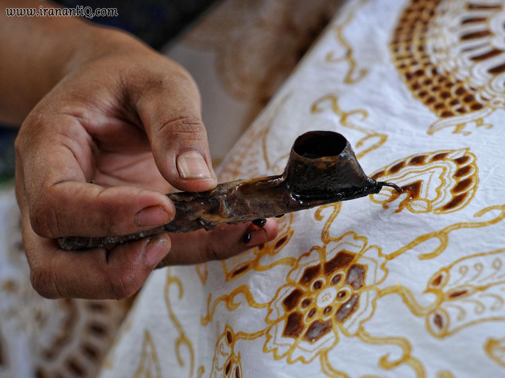 persian batik ، باتیک یا چاپ کلاغه ای