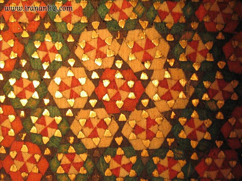 Persian Beautiful Colors of inlay - خاتم کاری زیبای ایرانی