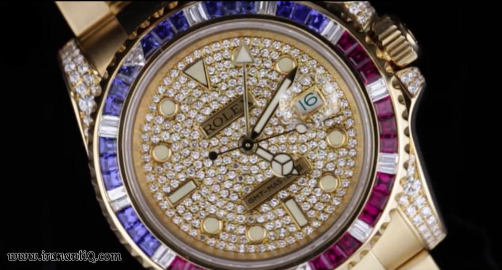 ساعت مچی جواهرنشان روکس