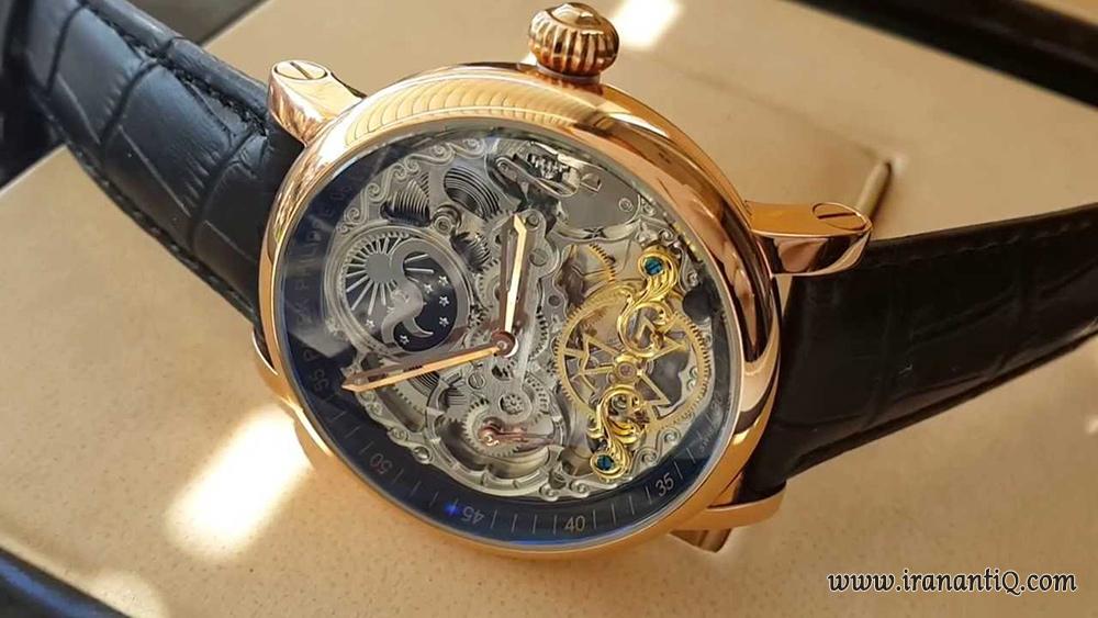 ساعت Skeleton برند پاتک فیلیپ