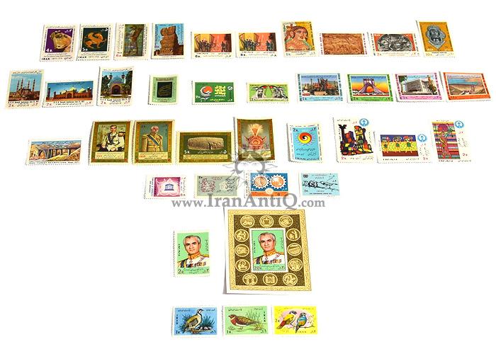 این سری شامل تمبرهای سال 1350 به صورت تک با تعداد 38 عدد تمبر می باشد.