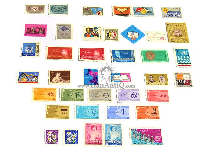 این سری شامل تمبرهای سال 1344 به صورت تک با تعداد 39 عدد تمبر می باشد.