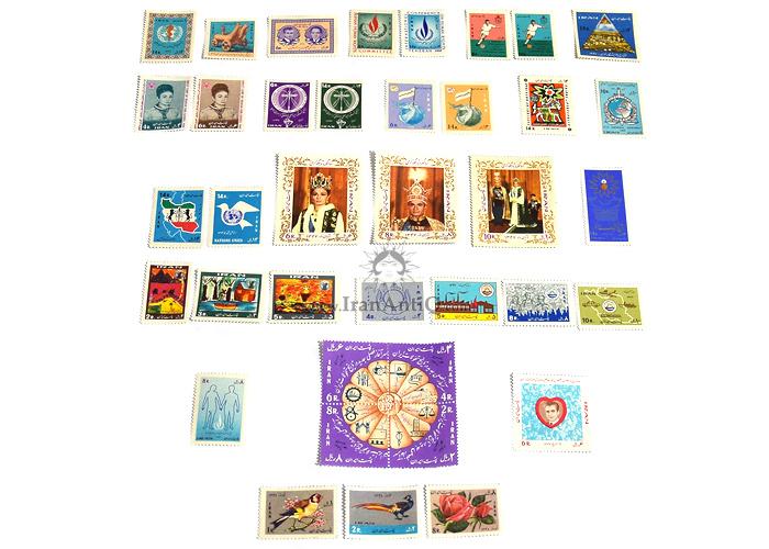 این سری شامل تمبرهای سال 1347 به صورت تک با تعداد 38 عدد تمبر می باشد.