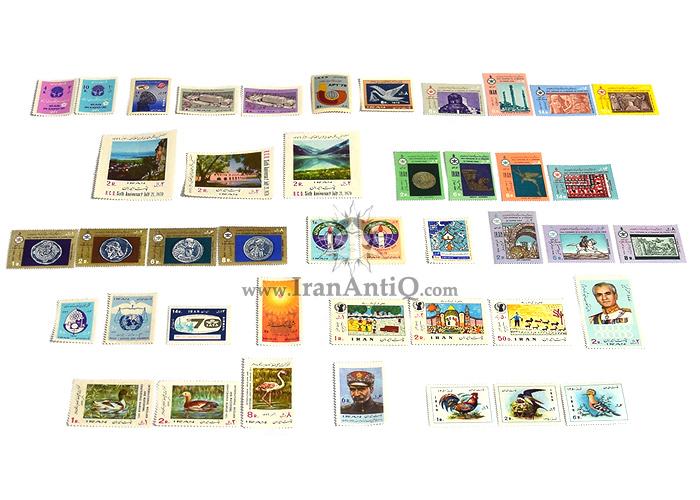 این سری شامل تمبرهای سال 1349 به صورت تک با تعداد 43 عدد تمبر می باشد.