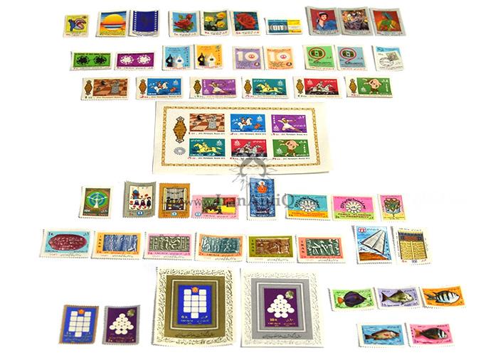 این سری شامل تمبرهای سال 1351 به صورت تک با تعداد 51 عدد تمبر می باشد.