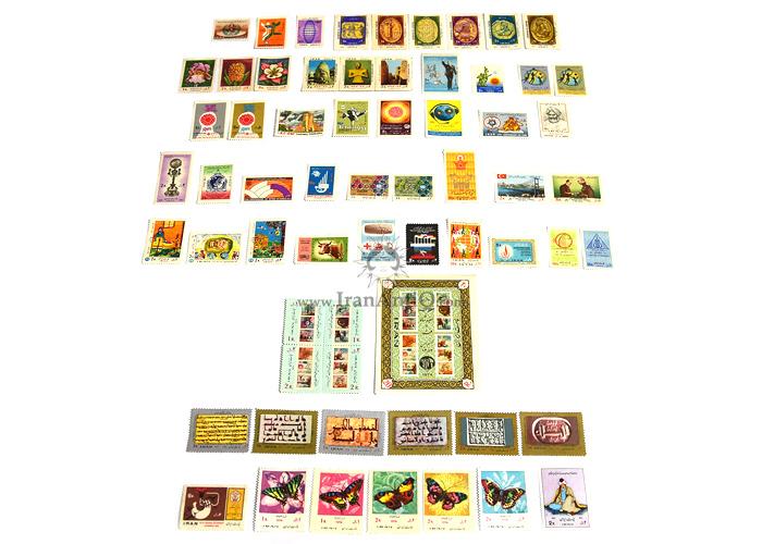این سری شامل تمبرهای سال 1352 به صورت تک با تعداد 64 عدد تمبر می باشد.