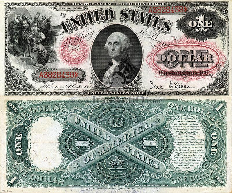 1 دلار  رایج ایالات متحده