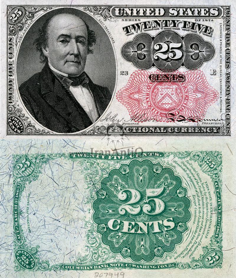 25 سنت سری فراکسیونال - رابرت جی واکر