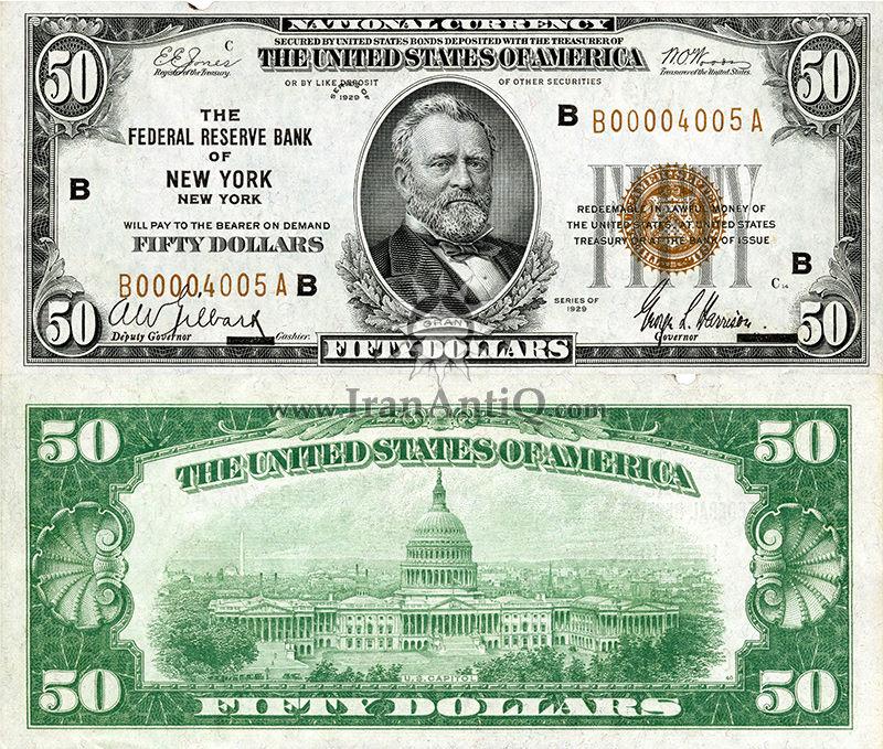 50 دلار سری ملی فدرال رزرو - کاخ کنگره