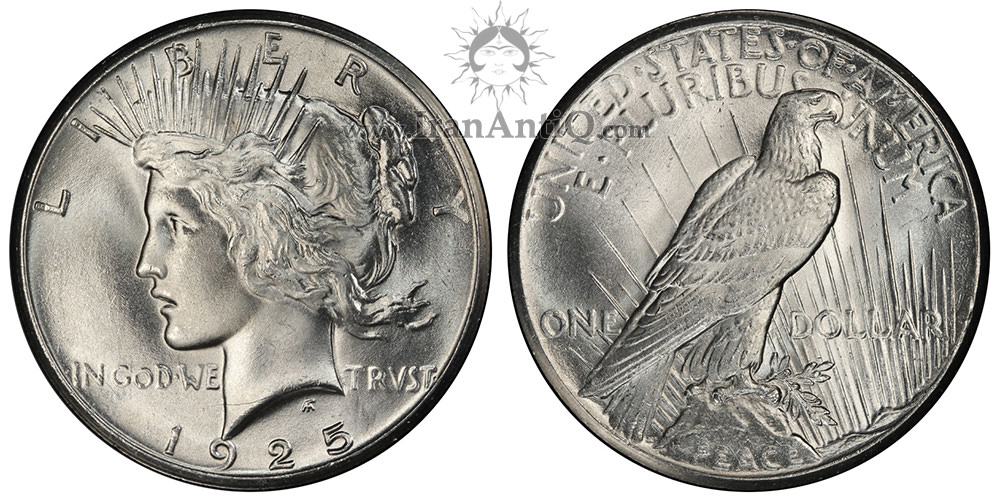 سکه یک دلار صلح - Peace One Dollar