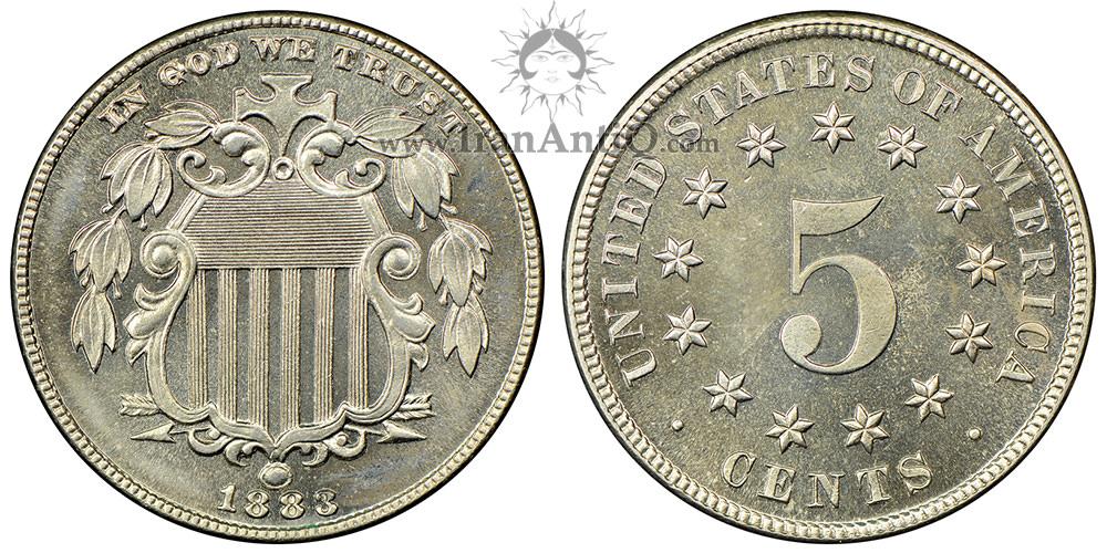 سکه پنج سنت سپر - نوع دو