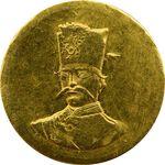 سکه طلا 2000 دینار 1299 - AU58 - ناصرالدین شاه