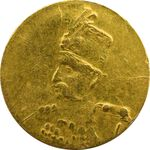 سکه طلا 2000 دینار تصویری (بدون تاریخ) - MS62 - مظفرالدین شاه