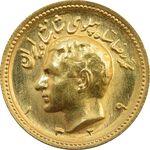 سکه طلا یک پهلوی 1329 - MS64 - محمد رضا شاه