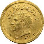 سکه طلا ربع پهلوی 1342 - MS64 - محمد رضا شاه