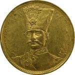 سکه طلا 1 تومان تصویری 1297 - AU55 - ناصرالدین شاه
