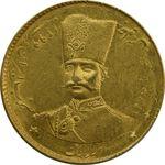 سکه طلا 2 تومان تصویری 1299 - MS61 - ناصرالدین شاه