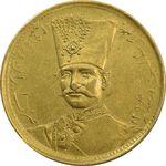 سکه طلا 1 تومان تصویری 1297 - AU50 - ناصرالدین شاه