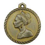 مدال آویز فرح پهلوی 1354 - EF -  محمد رضا شاه