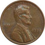 سکه 1 سنت 1972 لینکلن - EF - آمریکا