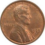 سکه 1 سنت 1973D لینکلن - MS62 - آمریکا