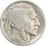 سکه 5 سنت 1935 بوفالو - VF35 - آمریکا