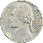 سکه 5 سنت 1972 جفرسون - AU - آمریکا