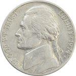 سکه 5 سنت 1974D جفرسون - EF40 - آمریکا