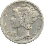 سکه 1 دایم 1929S مرکوری - VF35 - آمریکا