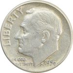 سکه 1 دایم 1946 روزولت - AU50 - آمریکا