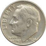 سکه 1 دایم 1974 روزولت - VF30 - آمریکا