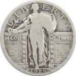 سکه کوارتر دلار 1925 - VF20 - آمریکا