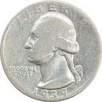 سکه کوارتر دلار 1939 واشنگتن - VF20 - آمریکا