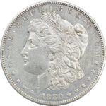 سکه یک دلار 1880S مورگان - EF40 - آمریکا