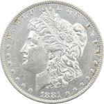 سکه یک دلار 1881O مورگان - EF45 - آمریکا
