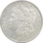 سکه یک دلار 1882O مورگان - AU50 - آمریکا