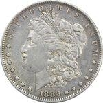 سکه یک دلار 1883O مورگان - EF40 - آمریکا