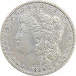 سکه یک دلار 1889O مورگان - VF35 - آمریکا